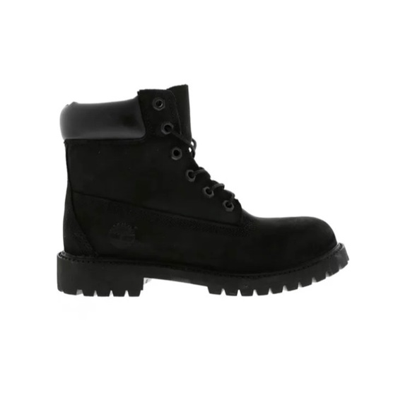 Timberland Classic 6 Youth Boots Black